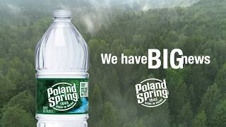 Poland Spring - Water  Bottles Made From Recycled Plastic (HD)