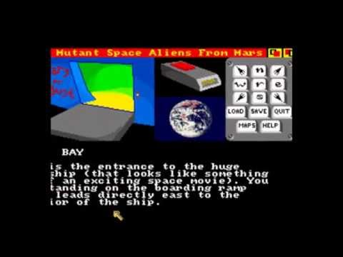 scary mutant space aliens from mars for Amiga (slideshow)