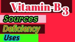 Vitamin-B3(Nicotinic acid,Niacin)😉uses,deficiency,dose//best medicine for cholesterol//be healthy