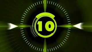 Countdown Timer ( v 212 ) 10 sec with Sound effects and Voice HD