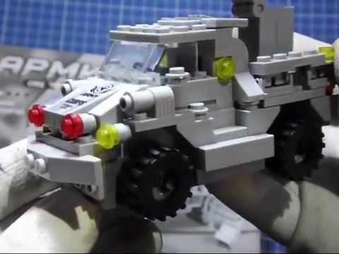Распаковка игрушек - Конструктор AUSINI Армия