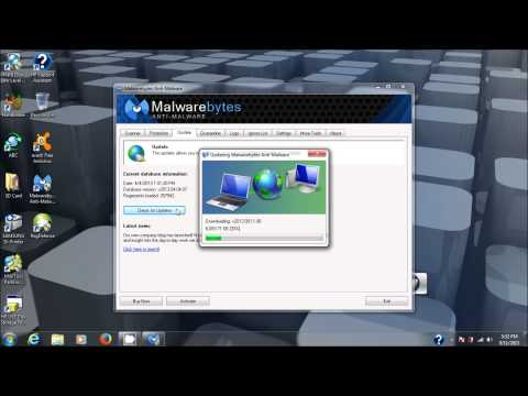 Malwarebytes Anti-Malware. Free Anti-Spyware Removal Software Installation And Use Tutorial