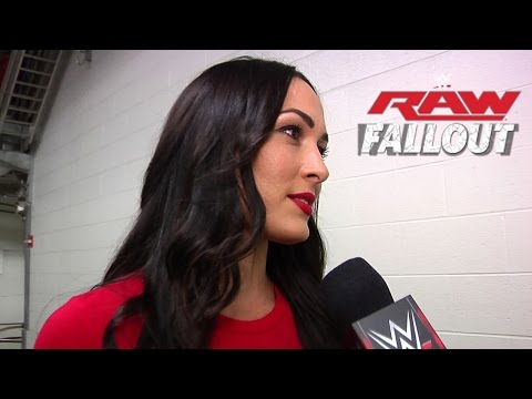 Brie Fights Back - Raw Fallout - Sept. 1, 2014