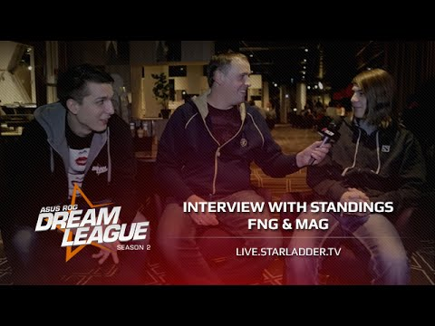 Interview with Standings fng & Mag. Dreamleague Season 2