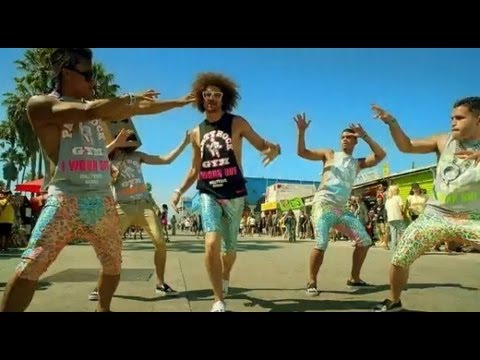 LMFAO - Sexy and I Know It [OFFICIAL MUSIC VIDEO REMAKE] w/ Light Show (2012) Full HD
