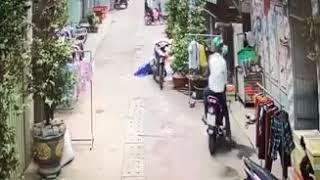 Ăn trộm Xe máy tại hốc môn