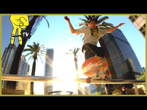Skating Downtown Los Angeles with Dylan Witkin Part 2 - Sk8 Spotterz Ep. 21