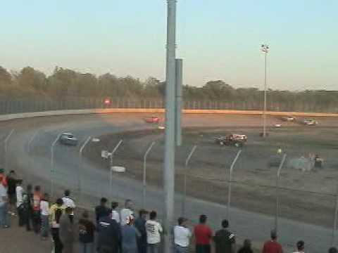 Races at Ogilvie MN 7 11 09 Video 3