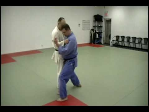 Sumi Otoshi (Corner Drop) by David Loshelder, 3rd Degree Black Belt Judo Image 1
