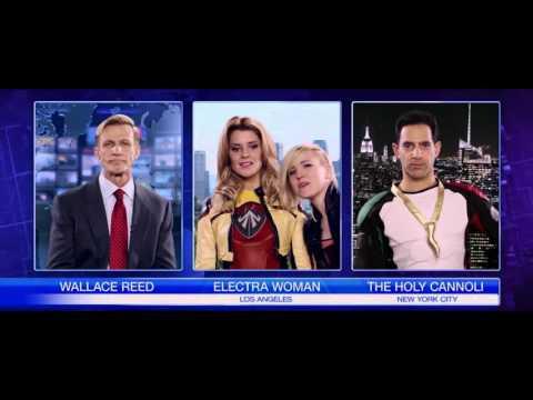 ELECTRA WOMAN & DYNA GIRL Trailer 2016 Comedy Superhero Movie