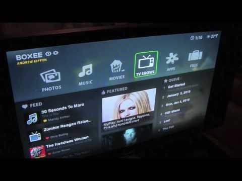 CES 2010 - D-Link Boxee Box