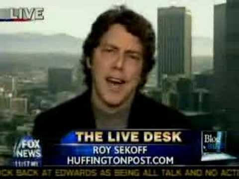Huffington Post's Roy Sekoff gets his digs in O'Reilly