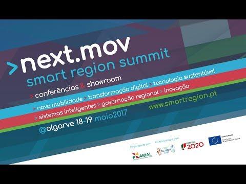 next.mov #smartRegion summit Algarve 18/19Maio2017