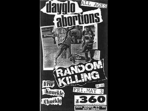 Dayglo Abortions - Nikki Dial