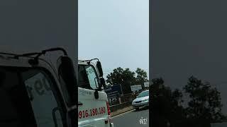 Tình cờ đi đường gặp cảnh đụng xe nghiêm trọng