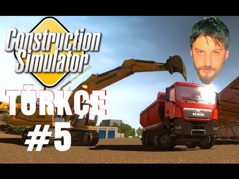 Construction Simulator 2015 Türkçe Co-op | w/Oyun Günlüğü | Bölüm 5