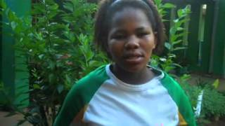 A girl from Tlokweng Village, Botswana talks about her SOS mother