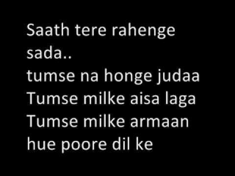 Tumse milke Karaoke by Aditya Tambe (Addy)