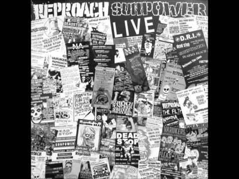 SUNPOWER / REPROACH Split LP (2009) - SunPower side