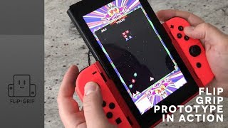 Flip Grip: Galaga demo