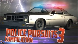 BeamNG.Drive Police Pursuits Compilation #3 - [Crashes and Rollovers - HD]