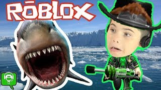 Roblox Shark Bite with HobbyPig