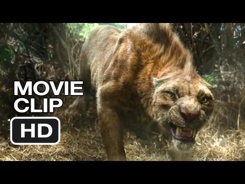 After Earth Movie CLIP - Tiger (2013) - Will Smith Post-Apocalyptic Movie HD