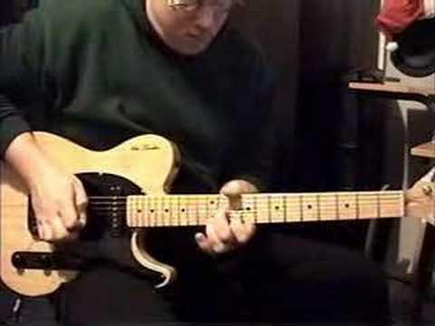 Chicken Picking - Hybrid picking guitar solo instrumental by Larry Gladd