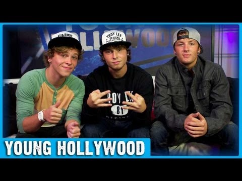 X FACTOR Finalists Emblem3 on Demi Lovato & Simon Cowell!