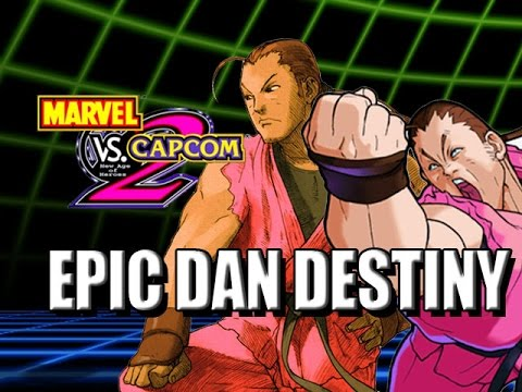 EPIC DAN DESTINY: Capcom Classics (Marvel vs Capcom 2)