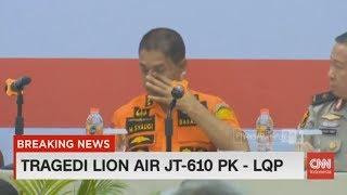 Kami Bukan Manusia Super Kepala Tim Basarnas Menangis Di Depan Keluarga Korban Lion Air Jt 610