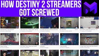 "Why the Destiny 2 Directory ""Died"": How Streamers got screwed"