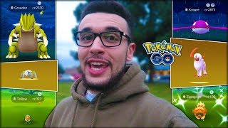 SHINY GROUDON, RARE HATCHES, & NEW RAIDS! (Pokémon GO)