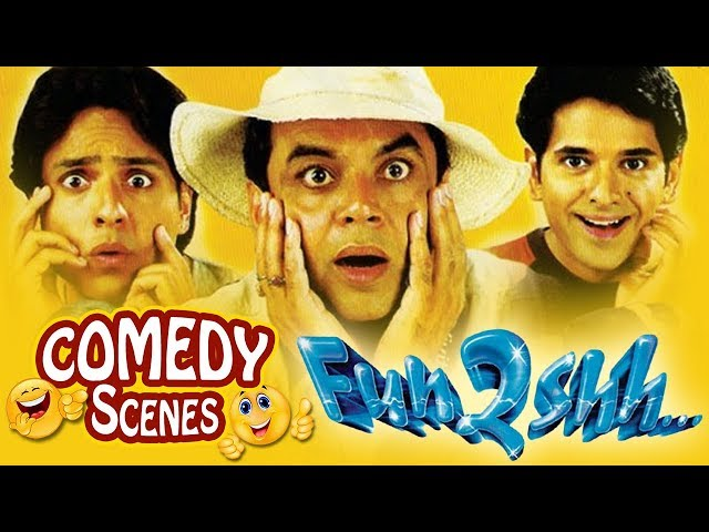Funtoosh - All Comedy Scenes -  Paresh Rawal -  Gulshan Grover #Indian Comedy