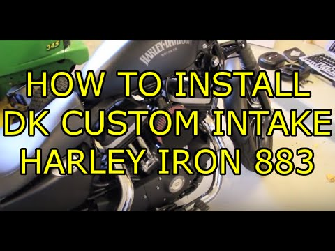 Xied Harley Iron Harley Sportster Iron 883