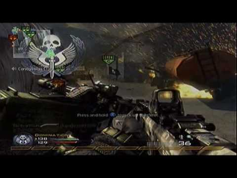 Call of Duty MW2 Commentary Domination #6 52-9 Scar H. Modern Warfare 2. Video