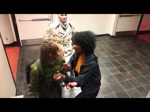 "SFSU 2016 - Campus employee assaults white student for ""cultural appropriation"""