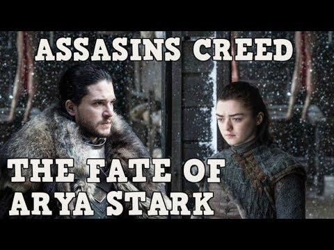 Game Of Thrones Season 8 Future Of Arya Stark Featuring