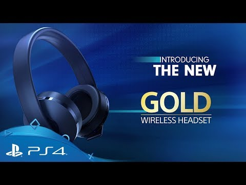 Gold Wireless Headset |  Features and Enhancements | PlayStation