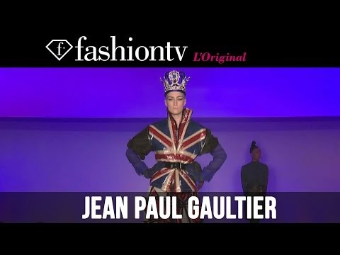 Cora Emmanuel at Jean Paul Gaultier Fall/Winter 2014-15 | Paris Fashion Week PFW | FashionTV