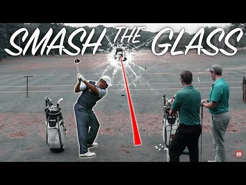 SMASH THE GLASS DRIVER CHALLENGE WITH LEE WESTWOOD