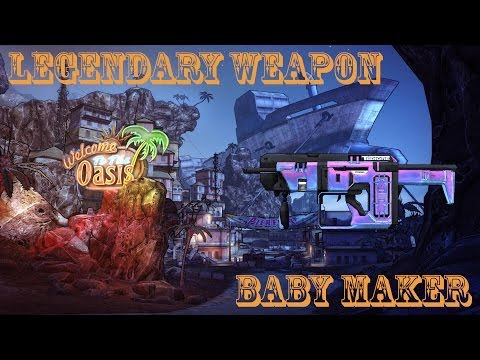Borderlands 2 легендарные пушки - #2 Baby Maker (Детородный орган)
