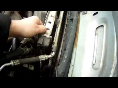 Замена генератора рено логан своими руками видео