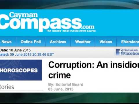 Cayman Compass journalists flee country after FIFA editorial | CEEN News | June 10, 2015
