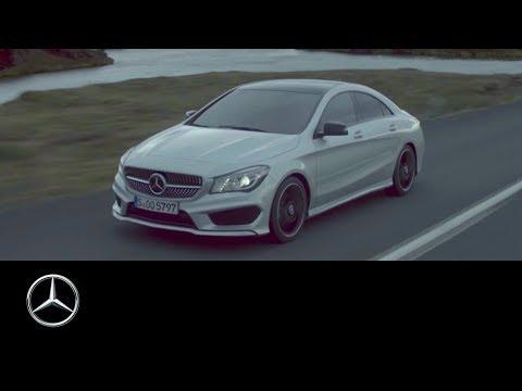 Untamed. The new CLA – Mercedes-Benz original