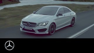 Untamed. The new CLA – Mercedes-Benz original