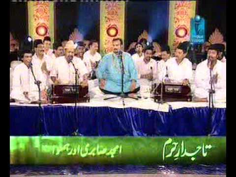 ALI KEY SATH HEY ZEHRA KI SHAADIAMJAD SABRI LIVE IN INDUS TV...