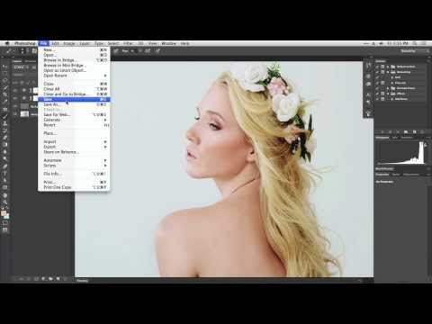 Saving Photos in Photoshop CC and File Types