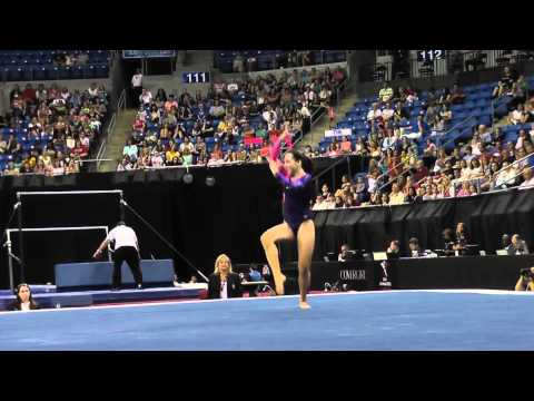 Amelia Hundley - Floor - 2012 Visa Championships - Jr. Women - Day 2