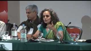 Disappearing World Forum with Arundhati Roy, held at the Brunei Gallery, SOAS, University of London